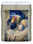 Prized Rooster Duvet Cover