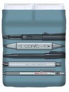 Pro Pens Duvet Cover