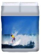 Pro Surfer Chris Ward Duvet Cover