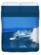 Pro Surfer Ezekiel Lau-1 Duvet Cover