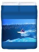 Pro Surfer Ezekiel Lau-3 Duvet Cover