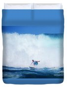 Pro Surfer Gabe King -6 Duvet Cover