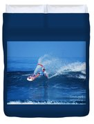 Pro Surfer Jamie O Brien #1 Duvet Cover