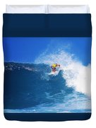 Pro Surfer Nathan Hedge-1 Duvet Cover