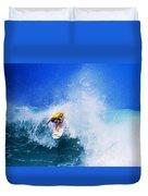 Pro Surfer-nathan Hedge-4 Duvet Cover