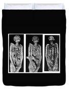 Processes Of Mummification Duvet Cover