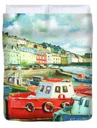 Promenade At Cobh Duvet Cover