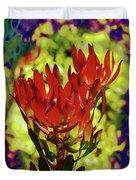 Protea Flower 4 Duvet Cover