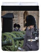 Protecting The Tower Of London Duvet Cover