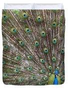 Proud Peacock Duvet Cover