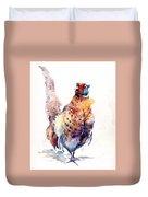 Proud Pheasant  Duvet Cover