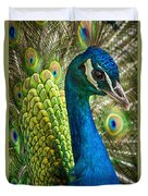 Preened And Proud Duvet Cover