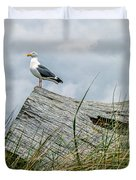 Proud Seagull Duvet Cover