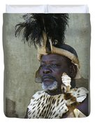 Proud Zulu Duvet Cover