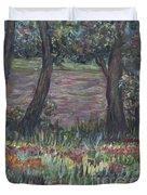 Provence Flowers Duvet Cover