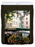 Provence Market Day Duvet Cover