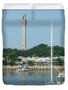 Provincetown Pilgrim Monument Duvet Cover