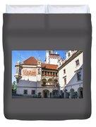 Pruhonice Castle Architecture Duvet Cover