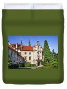 Pruhonice Castle  Duvet Cover