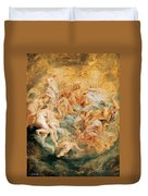 Psyche Taken Up Into Olympus Duvet Cover