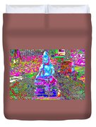 Psychedelic Buddha Duvet Cover
