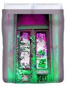 Psychedelic Door Duvet Cover