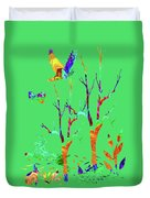 Psychedelic Forest Duvet Cover