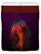 Psychedelic Jellyfish Duvet Cover