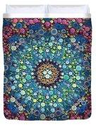 Psychedelic Mandala Duvet Cover
