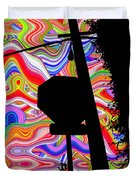 Psychedelic Sky Duvet Cover