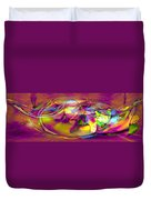 Psychedelic Sun Duvet Cover