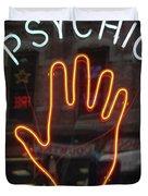 Psychic Readings Duvet Cover