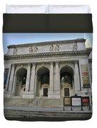 Public Library New York City Duvet Cover