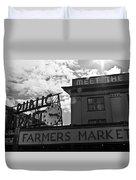 Public Market #2 Duvet Cover