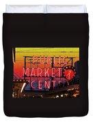 Public Market Mosaic 2 Duvet Cover