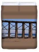 Pudding Creek Beach Duvet Cover