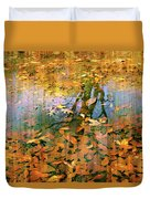 Puddle Play Duvet Cover