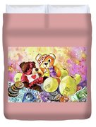 Pudsey And Truffle Mcfurry For Children In Need Duvet Cover
