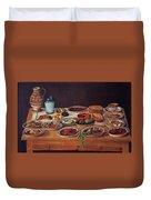 Puebla Kitchen Duvet Cover