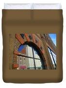 Pueblo Downtown Reflection 3 Duvet Cover