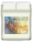 Pueblo Downtown-river Grasses 2 Duvet Cover