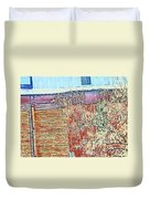 Pueblo Downtown--sweeney Feed Mill 2 Duvet Cover