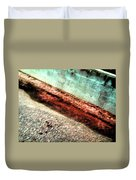 Pueblo Downtown--sweeny Abstract Duvet Cover