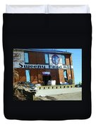 Pueblo Downtown--sweeny Feed Mill Duvet Cover