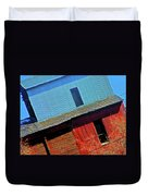Pueblo Downtown--sweenys Feed Mill Duvet Cover by Lenore Senior