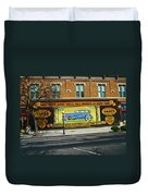 Pueblo Downtown--used Cars Duvet Cover
