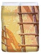 Pueblo Ladders Duvet Cover