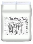 Pueblo Municipal Justice Center 2 Duvet Cover