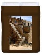 Pueblo Stairway Duvet Cover