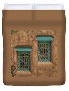 Pueblo Windows Nm Square Img_8336 Duvet Cover
